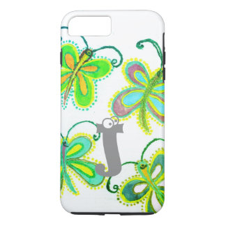 Beautiful Pretty Unique Exception Girly  Butterfly Case-Mate iPhone Case