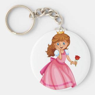 Beautiful princess keychains