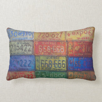 Beautiful province lumbar pillow