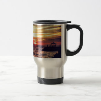 Beautiful Puerto Vallarta Sunset Travel Mug