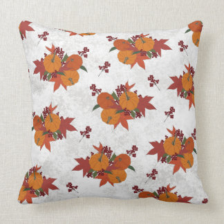 Beautiful Pumpkin Harvest Throw Pillow