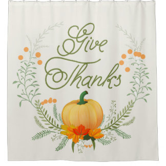 Beautiful  Pumpkin Thanksgiving Wreath Give Thanks