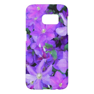 Beautiful Purple Clematis Samsung Galaxy S7 Case