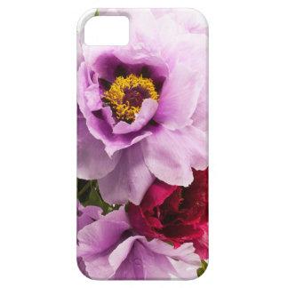 Beautiful Purple Dark Pink Flowers Floral Bouquet iPhone 5 Cases