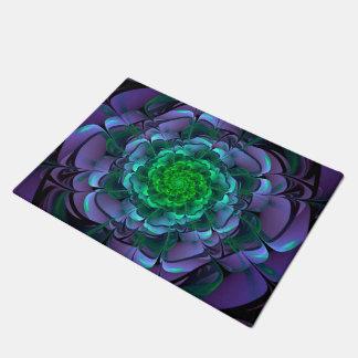 Beautiful Purple & Green Aeonium Arboreum Zwartkop Doormat
