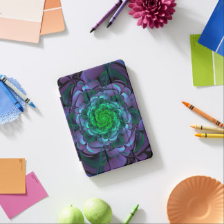 Beautiful Purple & Green Aeonium Arboreum Zwartkop iPad Mini Cover
