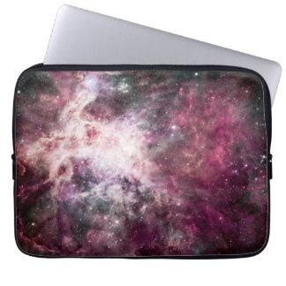 Beautiful purple nebula laptop sleeve