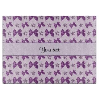Beautiful Purple Satin Bows Boards