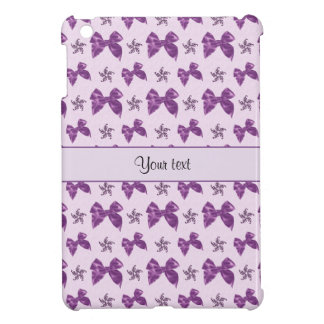 Beautiful Purple Satin Bows iPad Mini Cases