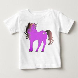 Beautiful Purple Unicorn Baby T-Shirt