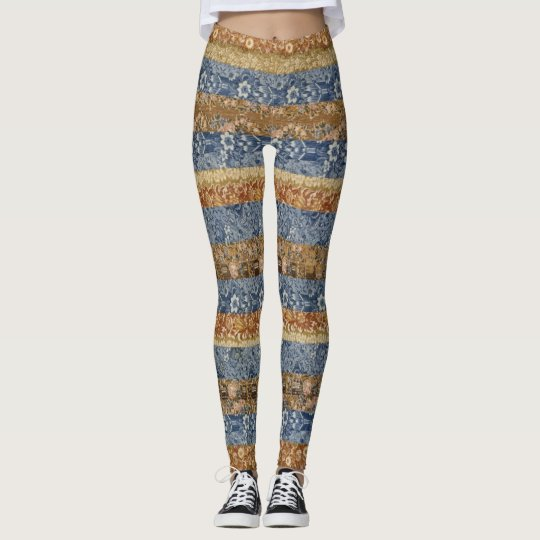 Beautiful Quilt-look Leggings