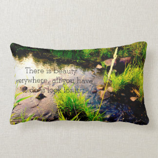 Beautiful quote pillow