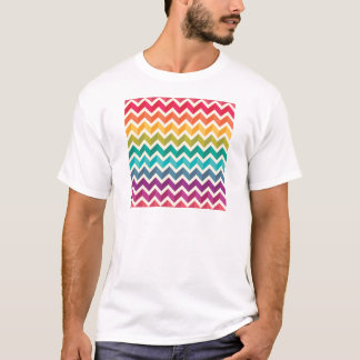 Beautiful Rainbow Chevron T-Shirt
