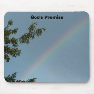 Beautiful Rainbow, God's Promise Mouse Pad
