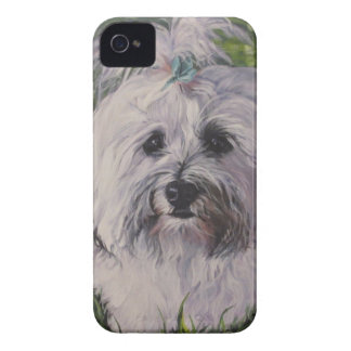 Beautiful Realistic Havanese Dog Art Painting iPhone 4 Cover