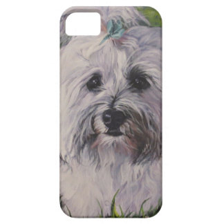 Beautiful Realistic Havanese Dog Art Painting iPhone 5 Cases