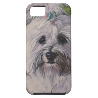 Beautiful Realistic Havanese Dog Art Painting iPhone 5 Covers