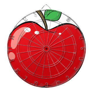 Beautiful Red Apple Fruit Dartboard
