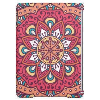 Beautiful red Flower Mandala iPad Air Cover
