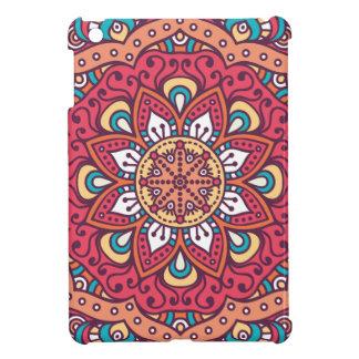 Beautiful red Flower Mandala iPad Mini Case