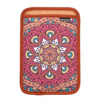Beautiful red Flower Mandala Sleeve For iPad Mini