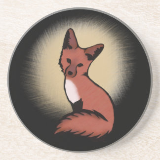Beautiful Red Fox Coaster