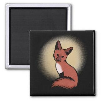 Beautiful Red Foxy Fox Magnet