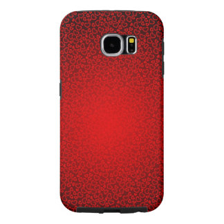 beautiful red love hearts vector art samsung galaxy s6 cases