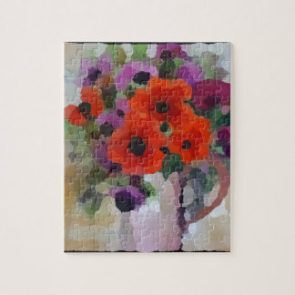 Beautiful Red Poppies Jigsaw Puzzle