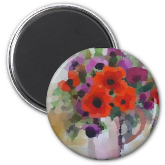 Beautiful Red Poppies Magnet
