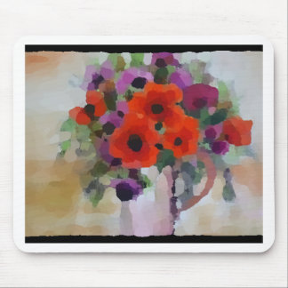 Beautiful Red Poppies Mouse Pad