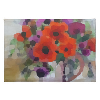 Beautiful Red Poppies Placemat