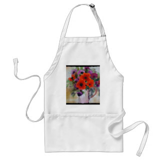 Beautiful Red Poppies Standard Apron
