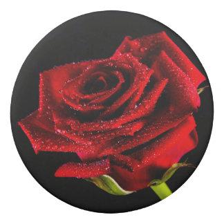 Beautiful red rose eraser