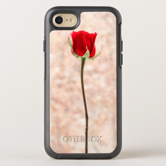 Beautiful Red Rose OtterBox Symmetry iPhone 7 Case