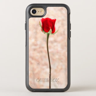 Beautiful Red Rose OtterBox Symmetry iPhone 8/7 Case