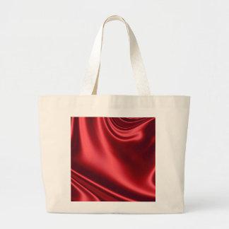 Beautiful Red Satin Jumbo Tote Bag