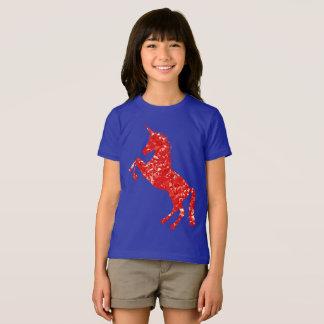 Beautiful red unicorn T-Shirt