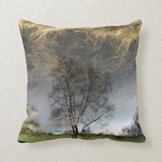 Beautiful Reflection Photography Tree Cushion