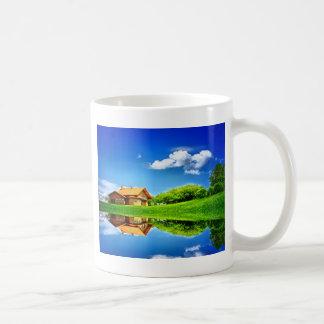 Beautiful Reflections Classic White Coffee Mug
