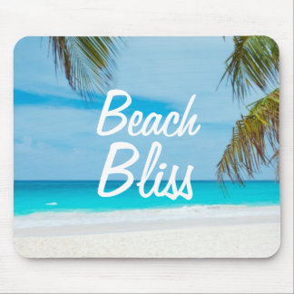 Beautiful Relaxing Beach Bliss Mouse Pad