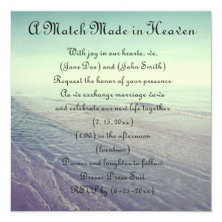 Beautiful Retro Pastel Scenic Ocean View Card