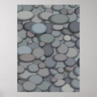Beautiful River Rock Poster Template