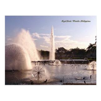 Beautiful Rizal Park Postcard