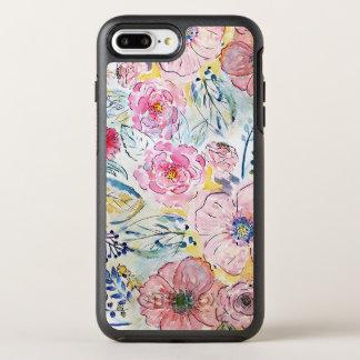 beautiful romantic watercolor floral OtterBox symmetry iPhone 8 plus/7 plus case
