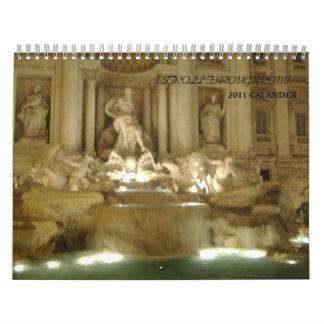 Beautiful Rome 2011 Calender Wall Calendars