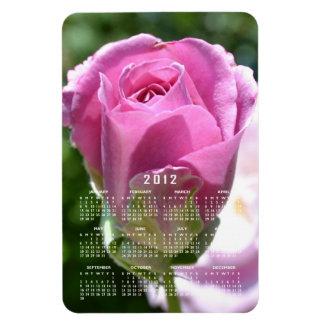 Beautiful Rose Bud Calendar Magnet