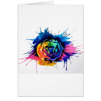 Beautiful rose card