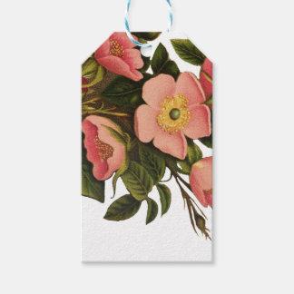 Beautiful Rose Flower Art Pretty Bold Gift Tags
