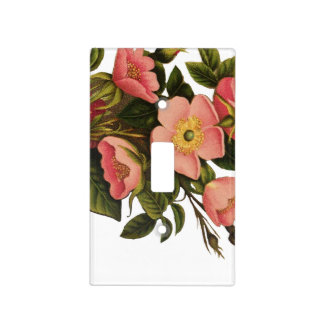 Beautiful Rose Flower Art Pretty Bold Light Switch Cover
